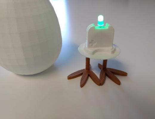 Maak je eigen 3D-geprinte lamp!