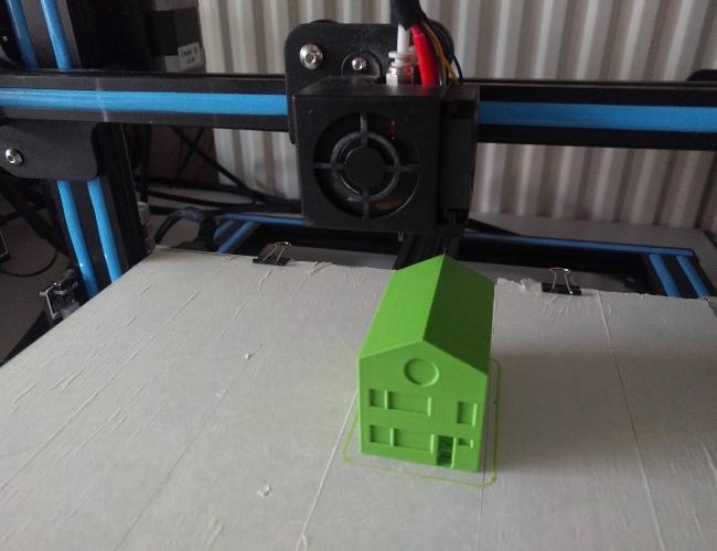 Ontwerp en 3D print een huisje!