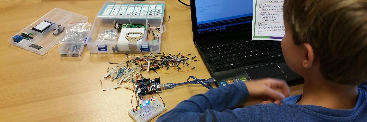 Leer elektronica aansturen! - 26/08/2018